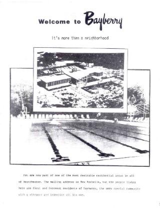 Bayberry Bulletin 1989